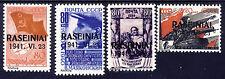 "Litauen "" Rossingen Raseiniai ""  1941 Mi# 8-11  (*) REPRINT Fälschung"