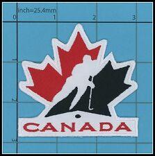 CANADA HOCKEY Iron on Patch NHL IIHF TOP QUALITY Canadian Maple leaf 7