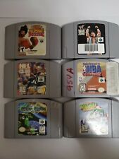 Nintendo 64 (N64) Sports and Other Games Bundle