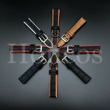 20-22 MM Color Silicone Leather Rubber Watch Band Strap For Panerai Alligator
