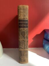 1862 The Autobiography of A Seaman DUNDONALD 4 Maps