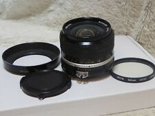 Nikon Nikkor 24mm f/2.8 Ai-s lens. exc cond Fantastic wide optic +filter + HN1