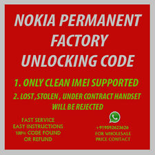unlock code for Nokia Lumia 520, 635, 820, 830, 900, 920 1520, 2520 Fast ! AT&T