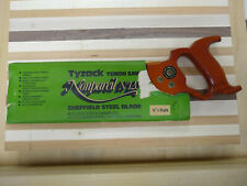 "Tyzack, Sons & Turner LTD #120 Non-pareil, Brass Back 12"" Tenon Saw"