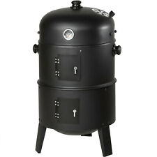 3in1 BBQ Griglia Carbonella Affumicatore barbecue con display della temperatura NUOVO