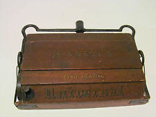 Antique Bissell's Early 1900s Universal Wooden Cyco Bearing Sweeper