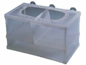 2 in 1 double Aquarium Breeder / Fish Hatchery Trap for Fry with Net
