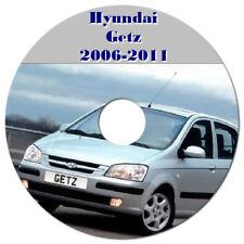 HYUNDAI GETZ 2006 to 2011 WORKSHOP SERVICE REPAIR MANUAL ON CD OR DOWNLOAD