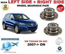 per VW TIGUAN cuscinetti ruote posteriori COPPIA 2007- > IN POI 5N AD1 SX E DX