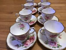 Royal Albert 8 American Beauty Cup Saucer 1 # Quality England (16 Available)