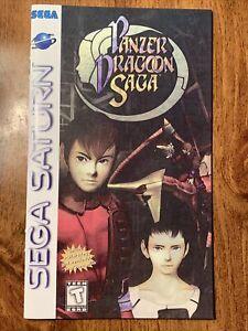 PANZER DRAGOON SAGA Custom Game Instruction Replacement Manual For Sega Saturn