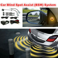 12V Car Blind Spot Detection Universal Rear View Sensor Safety Monitoring System