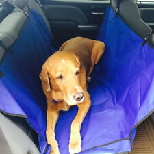 Pet Seat Cover for Dogs Back Seat Hammock Blue