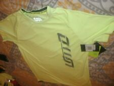 Lotto Boys Football Soccer Shirt Yellow Italian Sports Design Top Sz XL/XXL (B77