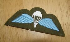 """BRITISH ARMY """"Parachute"""" WINGS BADGE UNISSUED"""