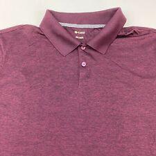 Haggar Clothing Polo Shirt Men's Size 2XL XXL Short Sleeve Casual Golf