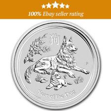 Australian Lunar 2018, Year Of Dog, 1oz Silver Coin Perth Mint NEW