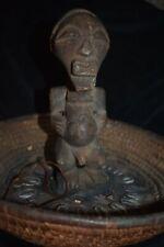 """orig $299 Songye Divination Basket Early 1900S 10"""" Prov"""