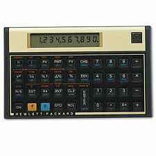 HP 12C 12C Financial Calculator  10-Digit LCD