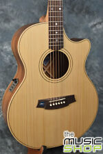 Cole Clark AN2EC-BB Angel 2 Acoustic Electric Guitar - Solid Bunya & Blackwood