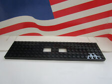 LEGO HARRY POTTER (1) BLACK BASE PLATE 6 x 24  HOGWARTS EXPRESS TRAIN Set 4841