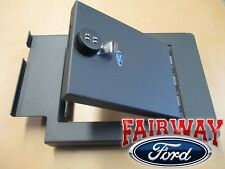 11 thru 16 Super Duty Oem Ford Console Security Vault Gun Safe w/ Captain Chairs