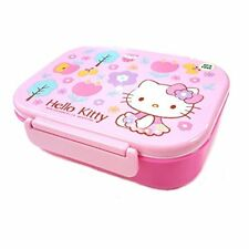 Sanrio Hello Kitty Lunch Container W Spoon & Fork : Happy Wood
