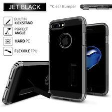 Express iPhone 7 Plus Case Spigen Tough Armor Heavy Duty Cover for Apple Jet Black