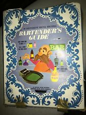 Vintage 1950's Bartenders Guide. Original Box. Contris Packing Co. Findlay, Ohio