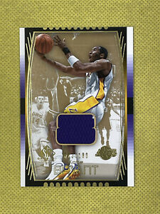 Kobe Bryant 2004 Upper Deck SP Game Used Edition 72/100 Jersey Patch #72 Lakers