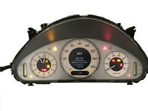 02-09 Mercedes W211 E320 E350 E500 E550 Instrument Cluster AMG Menu A2115404348