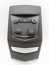 OEM Lincoln MKT Rear Center Temperature Media Control Faceplate-Scratches/Scuffs