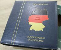 Schantl Vordruckalbum Bund 1999-2005 im Ringbinder blau