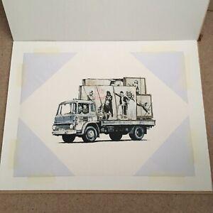 Gonefellow Graffiti Truck The Parody Print Art COA Unframed Limited Edition
