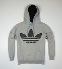 ADIDAS ORIGINALS HOODIE MENS LOGO RETRO OLDSCHOOL SWEATSHIRT size M _MEDIUM
