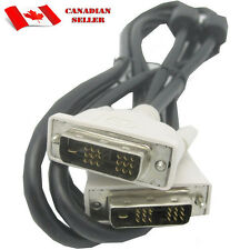 DVI Male to Male DVI-D Single Link 18+1 Pin Computer Monitor Cable