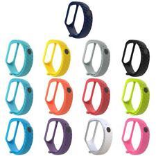 For Xiaomi Mi Band 3 Original Silicon WristBand Bracelet Belt Wrist Strap Multi
