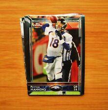 2015 Topps Chrome Denver Broncos TEAM SET - Peyton Manning
