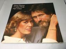 Johnny Duncan & Janie Fricke:   Nice 'N' Easy    EX+  1980  DEMO   LP