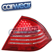 MERCEDES-BENZ W203 00-04 PRE-UDATE C-CLASS CLEAR RED LED TAIL LIGHTS