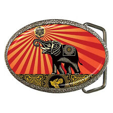 new Obey Elephant Belt Buckle free shipping