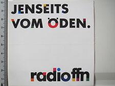 Aufkleber Sticker Radio FFN Spruch  (3839)