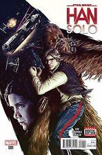 Han Solo #1 Variant Lot of 3 Photo, Falcon & Reuglar Covers Marvel Comics 2016