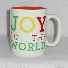 Christmas SunnySide Up Coffee Mug from About Face Designs - Joy to the World NEW
