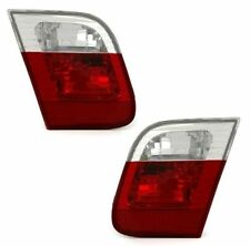 CLEAR REAR INNER BOOT TAIL LIGHTS LAMPS BMW E46 FACELIFT SALOON 10/2001-2005 TYP