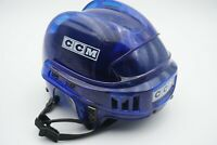 CCM HT2 Clear Blue Hockey Helmet Size Small Fits 6 3/8 to 7 (51 to 56 cm)