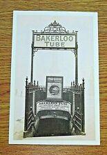 LONDON TRANSPORT POSTCARD-TRAFALGAR SQUARE STATION (NOW CHARING CROSS) PHOTO1906