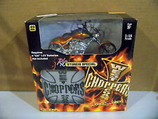 2004 1:18 Scale West Coast Choppers Jesse James R/C Sturgis Special Orange