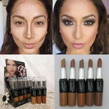 Pro Double-ended 2in1 Face 3D Contour Stick Cream Highlighter Bronzer Concealer*