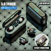 Auricolari wireless TWS bluetooth 5.0 Auricolari Mini Headset LED Stereo Cuffie